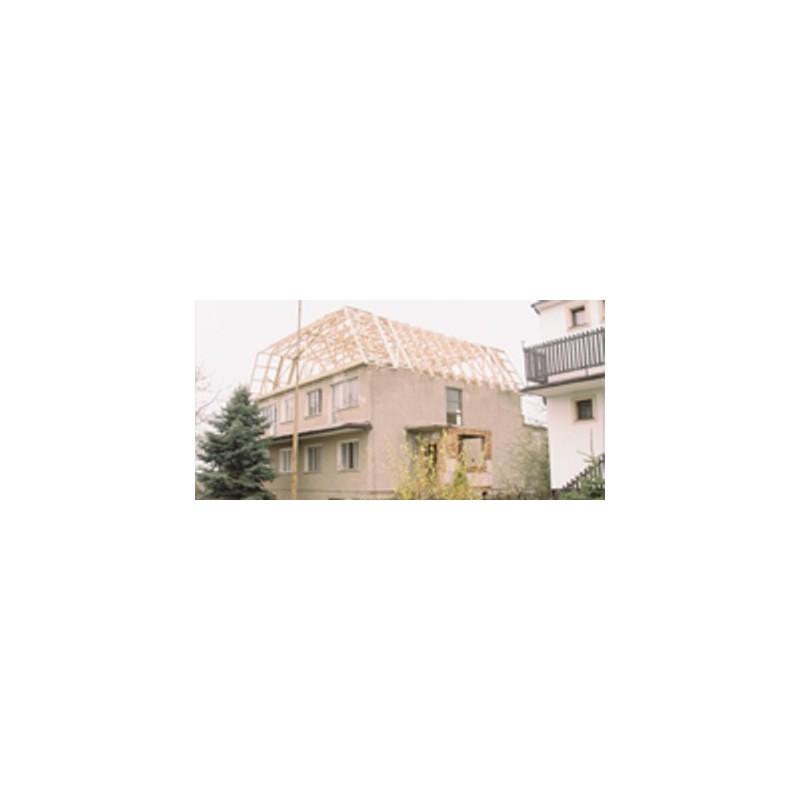 Wiązar mansardowy - nadbudowy na płaskich dachach