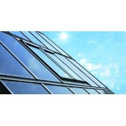 Roto solarny dach