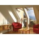 Velux okno balkonowe